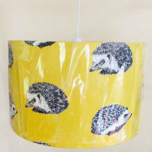 Lampshade,yellow hedgehogs (4012)