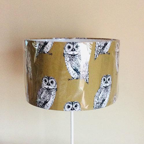 Lampshade, owls (4011)