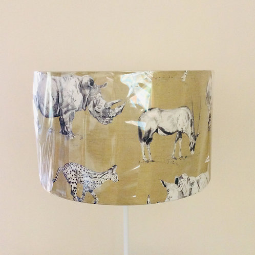 Lampshade, safari (4019)
