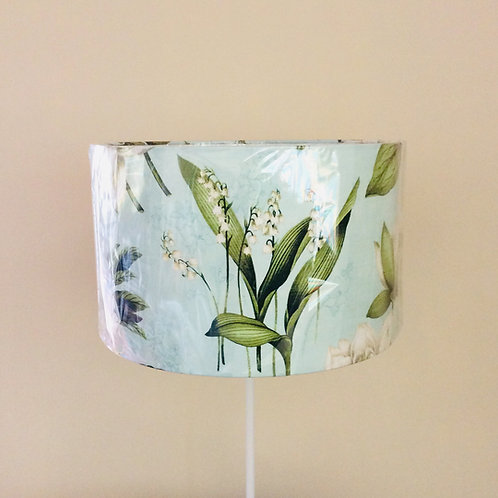 Lampshade, floral with lily of the valley (4010)