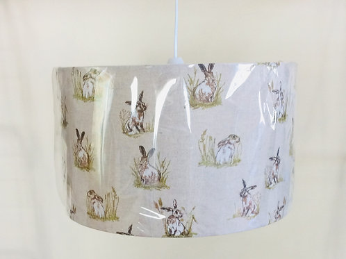 Lampshade, hares (3523)