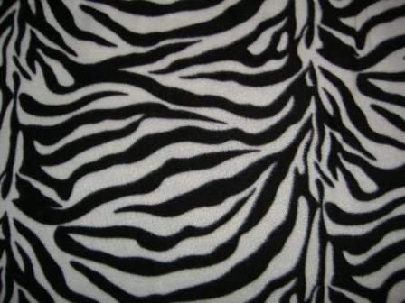 Fleece Cover - Zebra