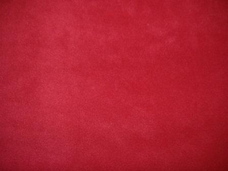 Fleece Cover - Red