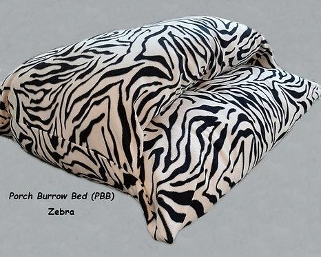 Porch Burrow Bed - Zebra