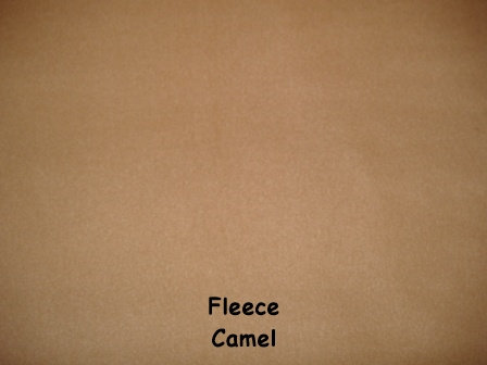 Fleece Cover - Camel