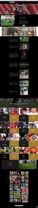 Next Level Football Website Design