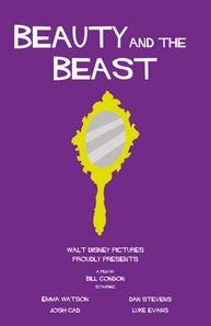 Saul Bass Study: Beauty and the Beast