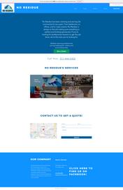 No Residue Website Design