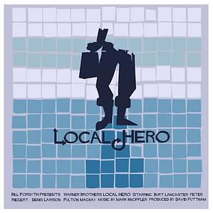 Saul Bass Local Hero Art Design Project