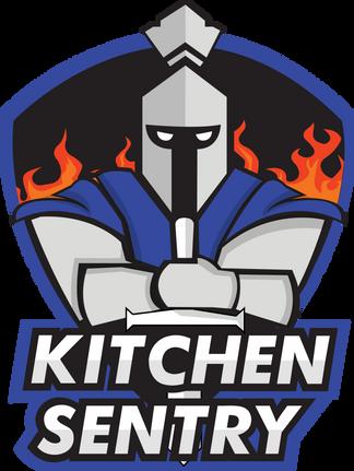 Kitchen Sentry Mascot Design