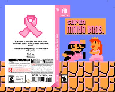Mario Nintendo Game Cover