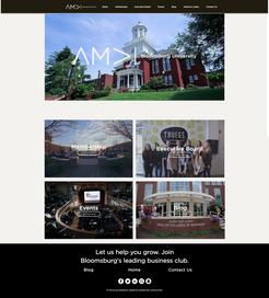 Bloomsburg American Marketing Association Website Design
