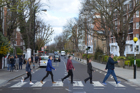 Abbey Road Family Photo
