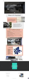 GV Classifieds Website Design