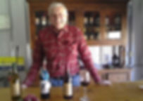 Picture of Bill Clarke in the winery