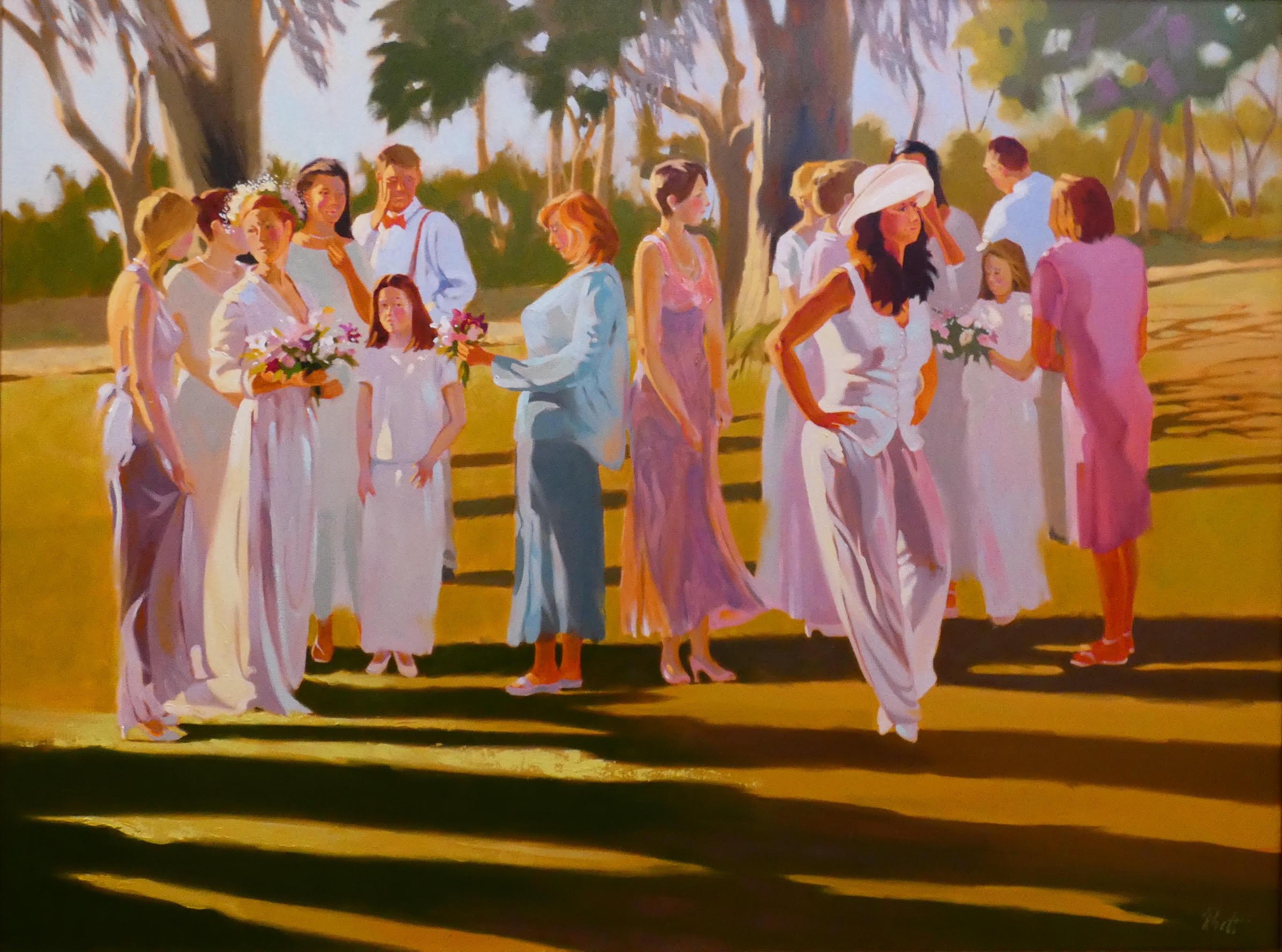 A Southern Wedding, 36 x 48