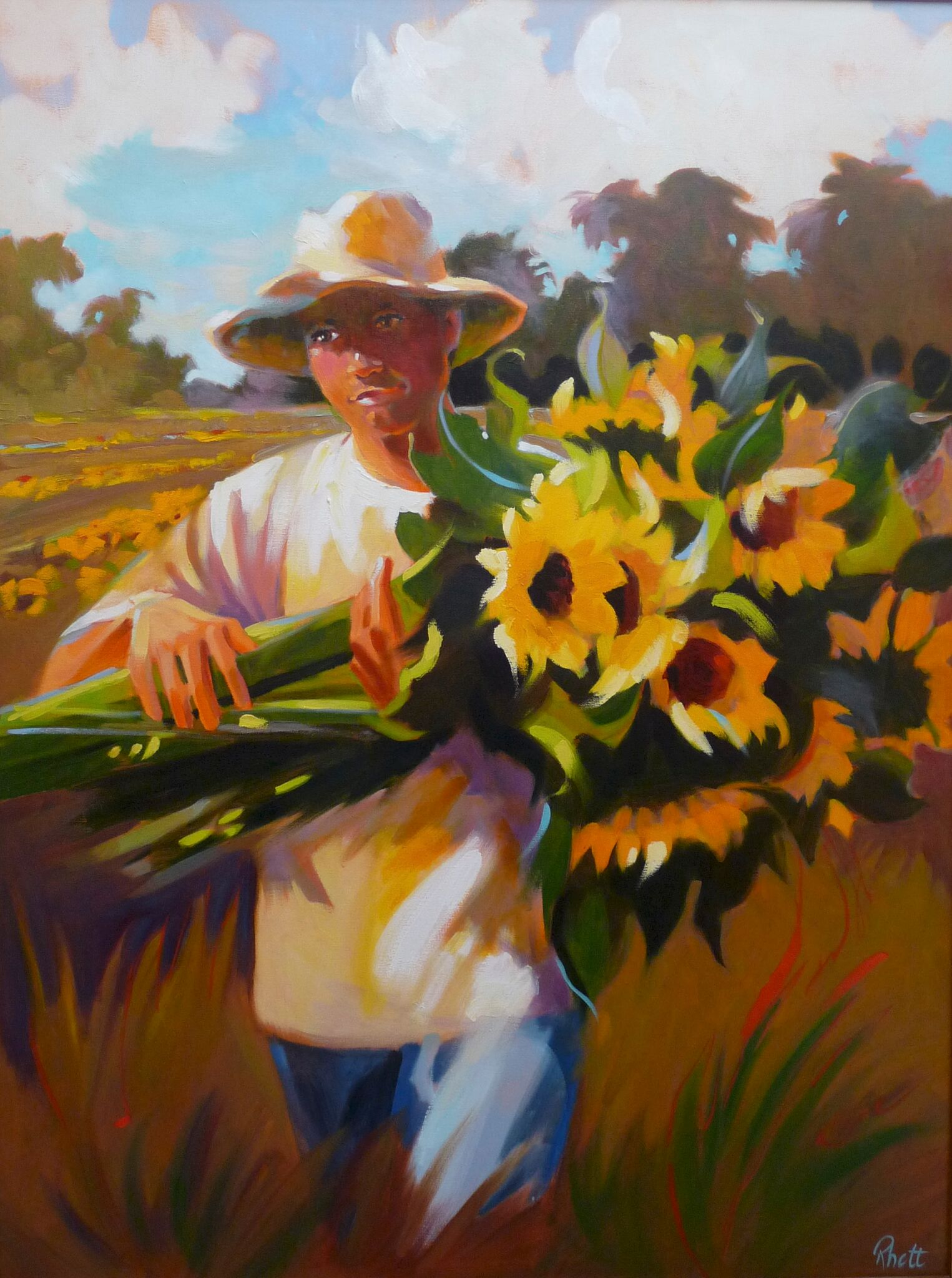 In From the Fields, 40 x 30