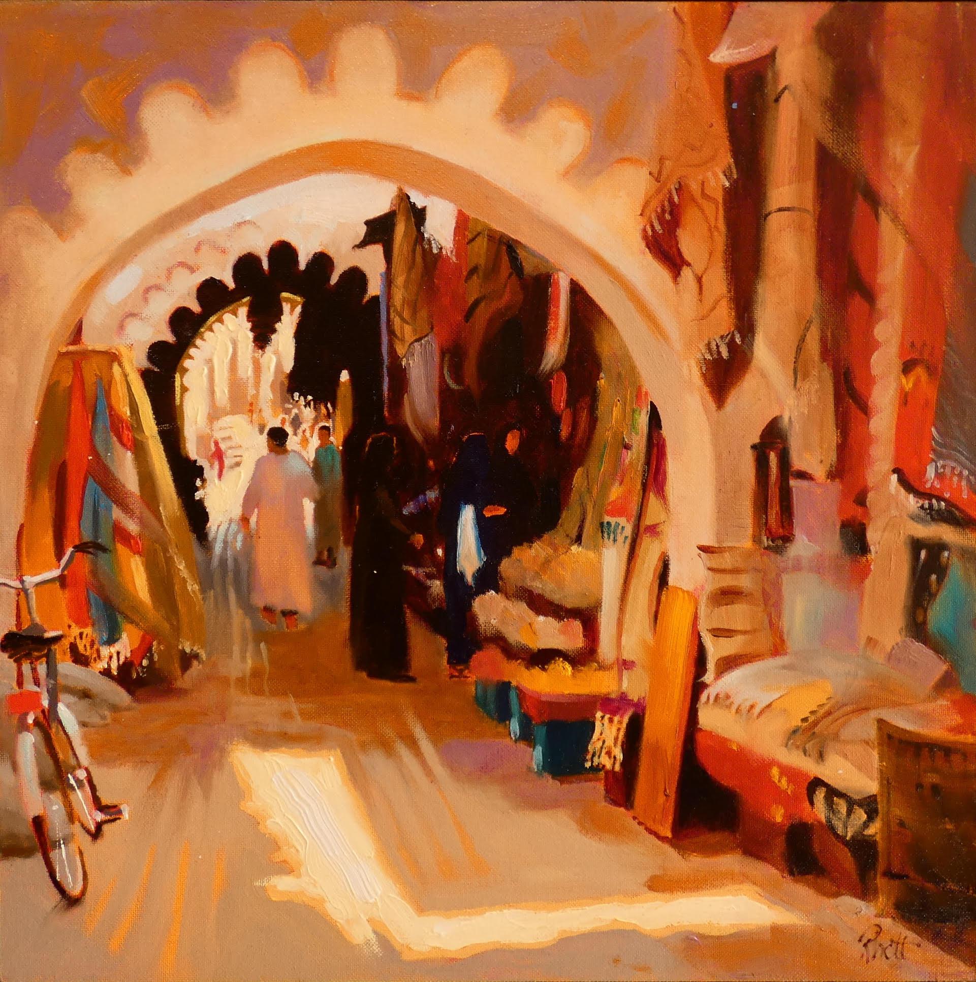 Keyhole, Marrakesh, 12 x 12
