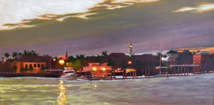 On the Waterfront,  15 x 30