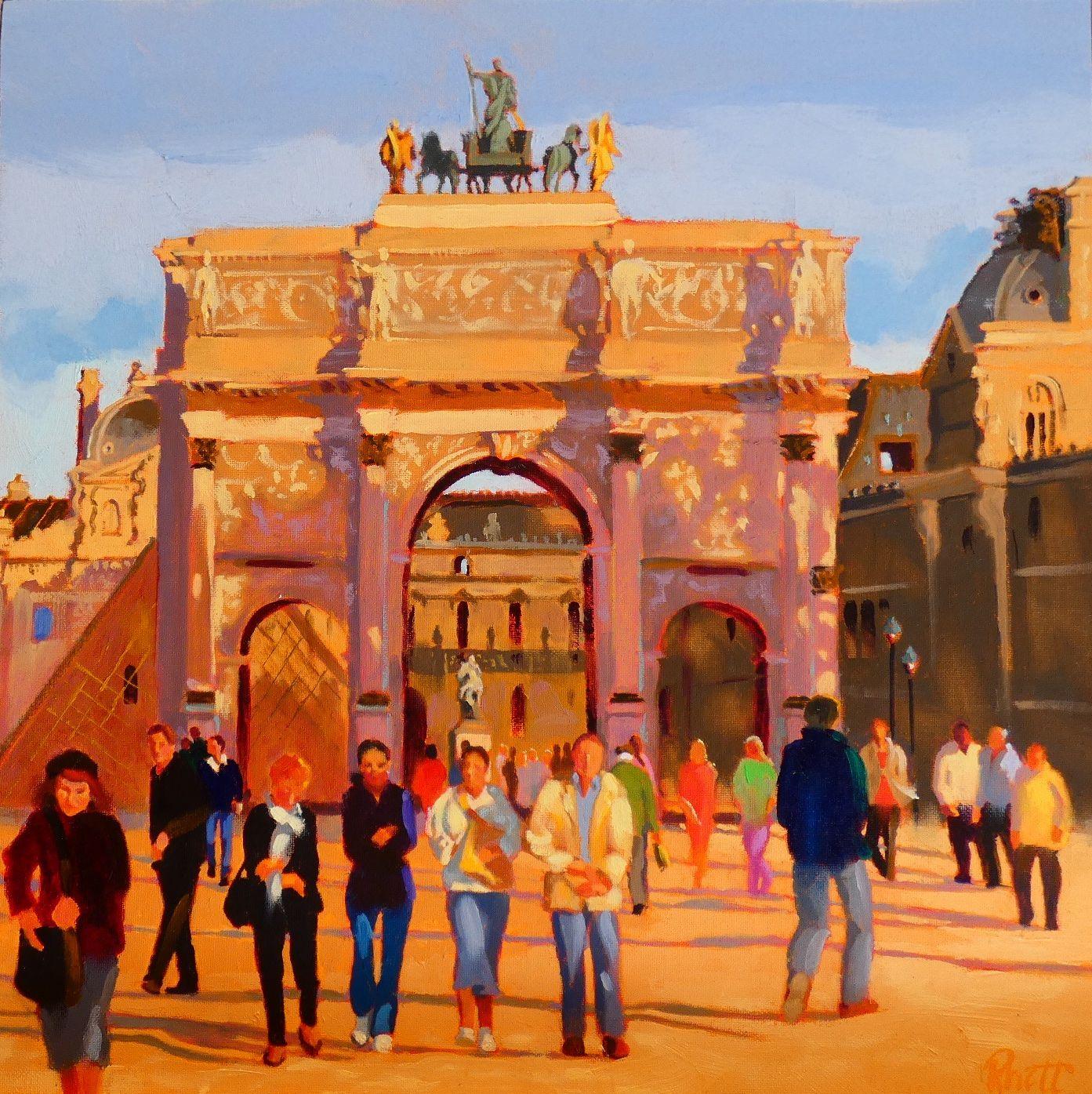 Arc de Triomphe du Carousel,  12 x 12