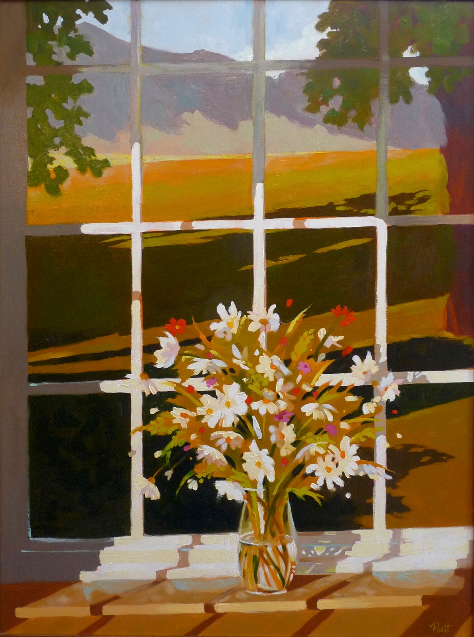 Wyoming Window,  40 x 30