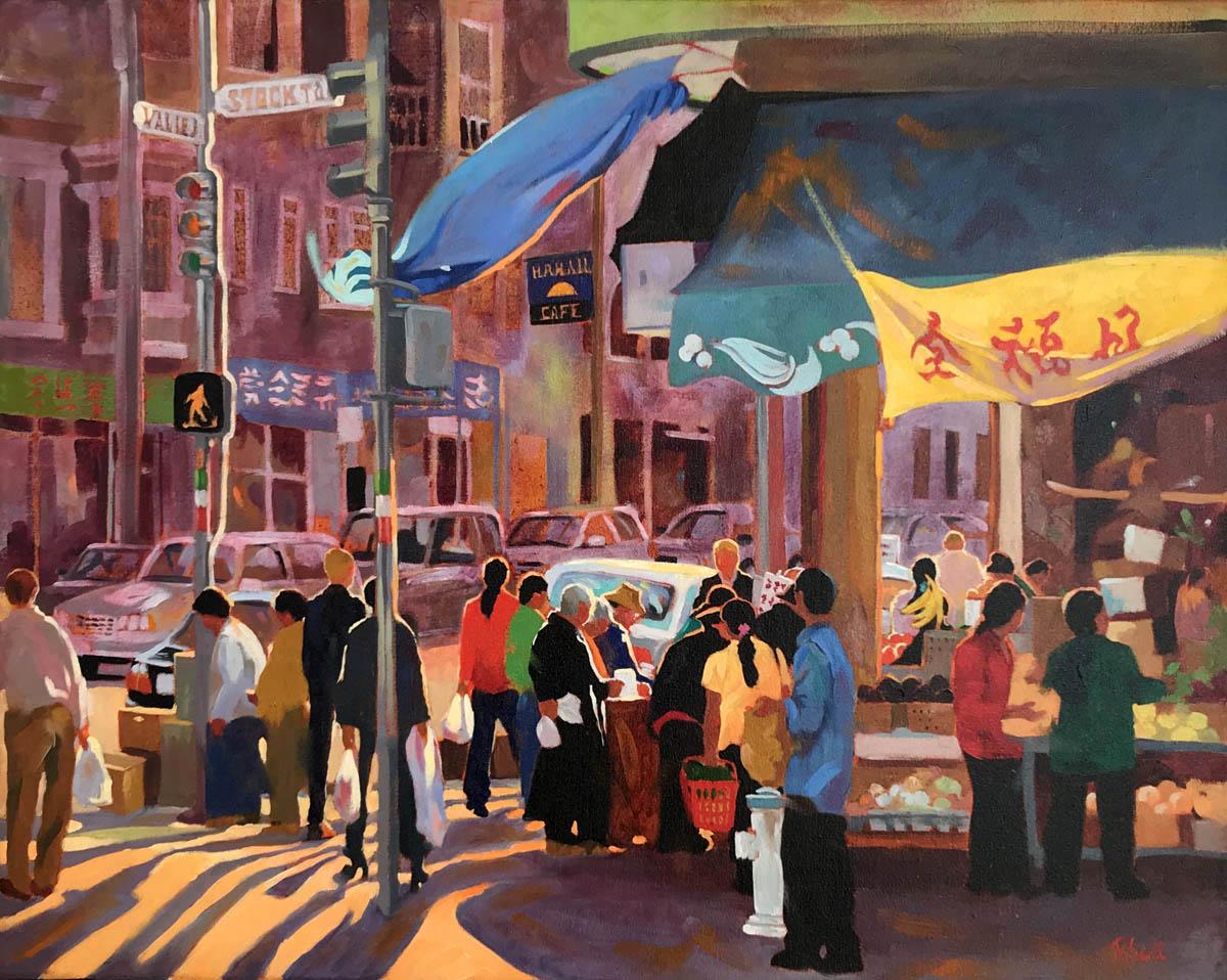 Chinatown,  24 x 30,