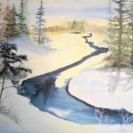 Canadian Winter Sunrise