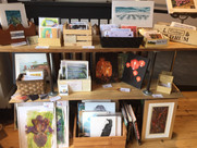 Cards, prints, small orginal paintings