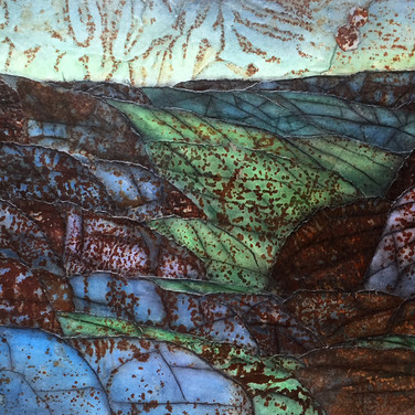 Quilted Landscape -- North Mountain