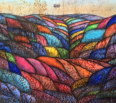 Quilted Landscapes -- Bright Fall