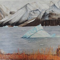 Iceberg at Karrat Fjord, Greenland