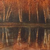 River Birch (Triptych)