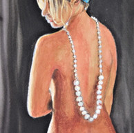 Dressed in Pearls and Blue