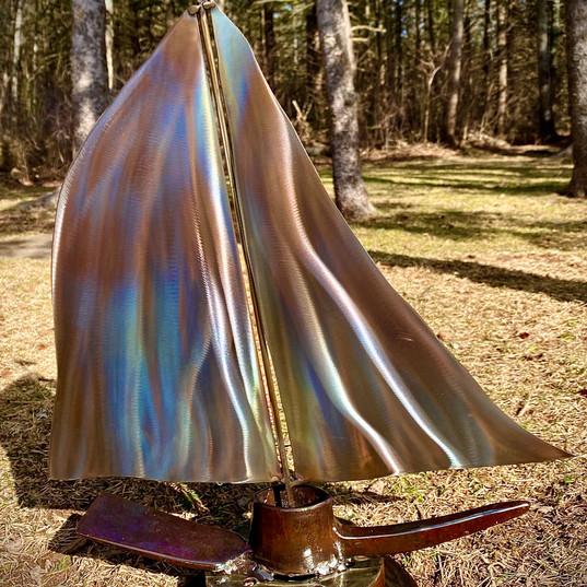 Heather Lawrie  Metal Sculpture