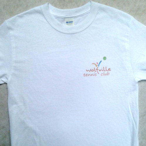 Premium Adult Cotton Ts -- Screen logo