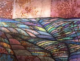 Quilted Landscape: Pastel