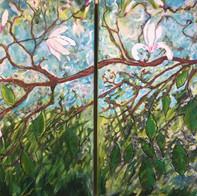 Magnolia Dyptich