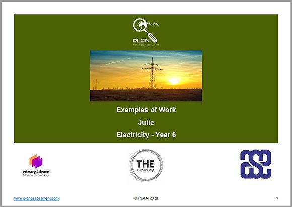 Examples of work - Electricity (Y6) - Julie
