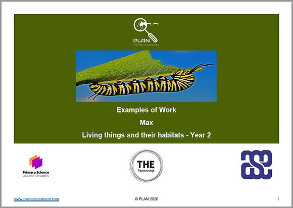 Examples of work - Living things and their habitats (Y2) - Max
