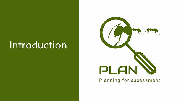 Introduces the different resources that make up PLAN