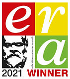 ERA2021 Winner Logo CMYK white border ad