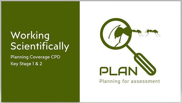 Working scientifically planning coverage CPD (KS1 & KS2)