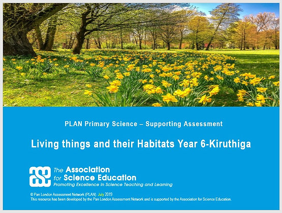 Examples of work - Living things and their habitats (Y6) - Kirithuga