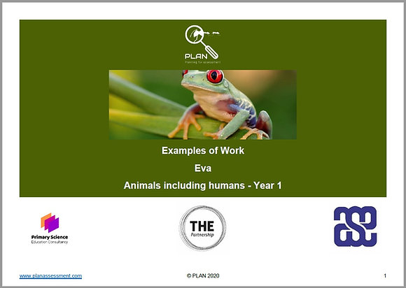 Examples of work - Animals, including humans (Y1) - Eva