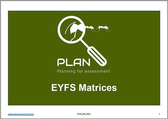 EYFS Matrices