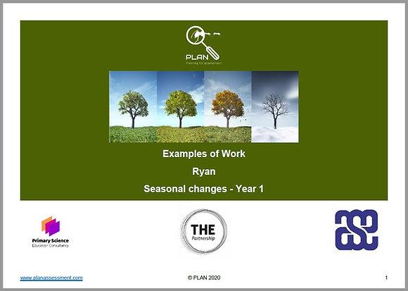 Examples of work - Seasonal changes (Y1) - Ryan
