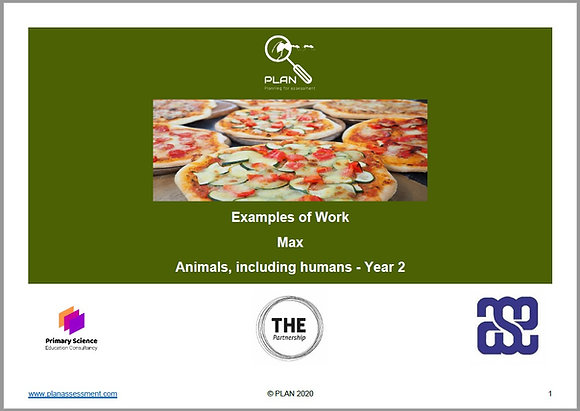 Examples of work - Animals, including humans (Y2) - Max