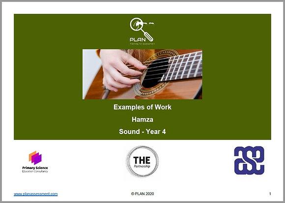 Examples of work - Sound (Y4) - Hamza