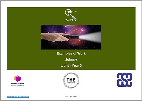 Examples of work - Light (Y3) - Johnny