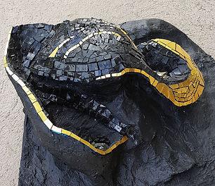 soporte tridimensional para mosaico